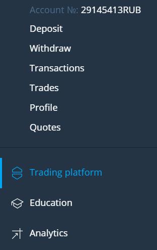 OlympTrade. Let's start trading options.