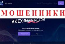 Обзор криптовалютной биржи Bkex-trading