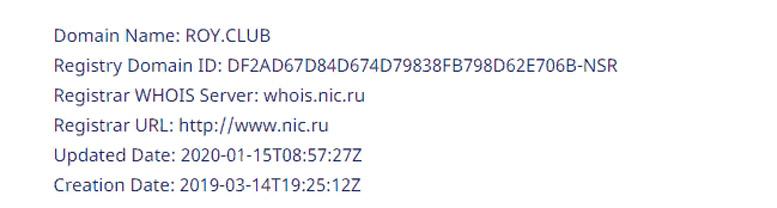 Обзор криптовалютной биржи ROY Club