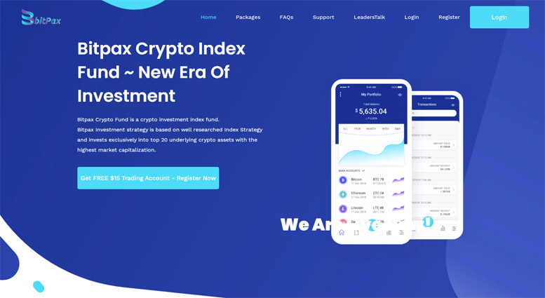 Криптовалютная биржа Bitpax – инвестиция в никуда