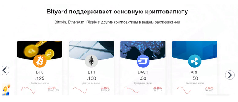 Обзор криптовалютной биржи Bityard