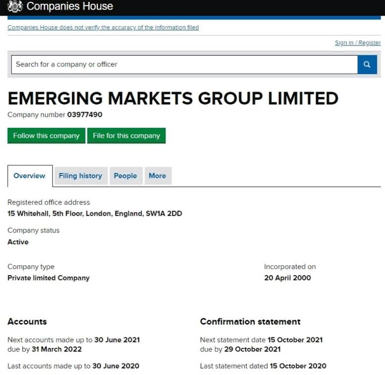 Emerging Markets Group – обзор брокера